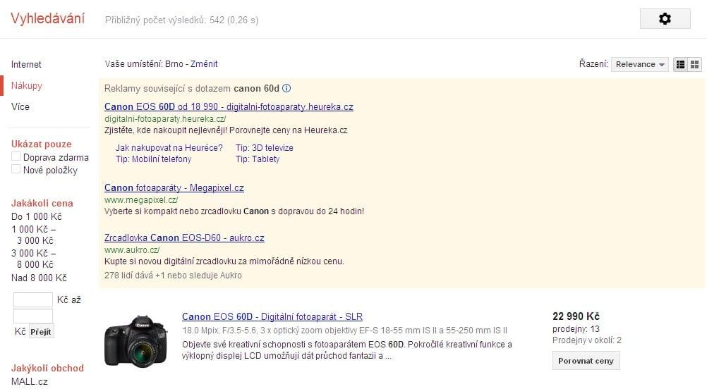 google-nakupy