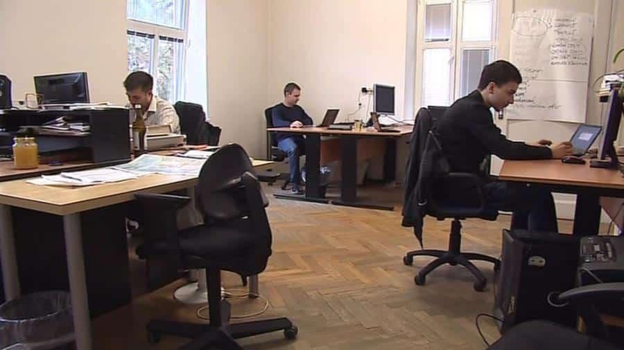 Takto vypadají kanceláře Skypickeru. Zdroj: Archiv Olivera Dlouhého
